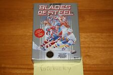 Blades of Steel (Nintendo NES) - NEW SEALED H-SEAM NM, FIRST PRINT BLACK SEAL!