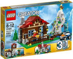 LEGO 31025 Creator 3 in 1 - Mountain Hut - Retired Brand New