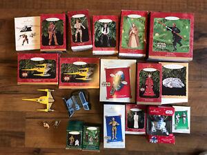 Star Wars Hallmark Ornaments Lot - 20 Ornaments!