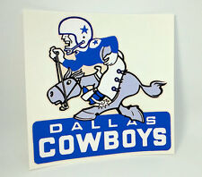 DALLAS COWBOYS Vintage Style NFL Football DECAL, Vinyl STICKER, Throwback Logo
