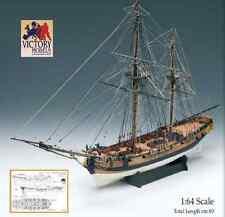 "Beautiful, brand new Amati model ship kit: the ""HMS Granado"" bombing vessel"