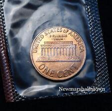 1961 D Lincoln Memorial Mint Penny from Original U.S. Mint Set in Original Cello