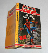 Librogame L'UOMO RAGNO Tenebre sulla città Jeff Grubb Super Eroi Marvel 1988