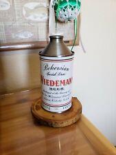 Wiedeman Cone Top Beer Can