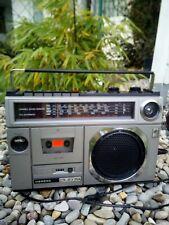 Siemens Ghetto Boom Blaster Club RM 714 Tragbarer Radio Kassettenrecorder...