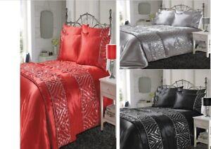 Luxury Shimmer Fancy duvet set Christmas Duvet Covers Bedding Sets
