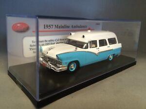 TRAX TRR59 1957 Ford Mainline Ambulance
