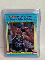 1988-89 Fleer Sticker # 9 Kevin McHale Boston Celtics NBA Basketball Card