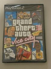 Playstation 2 Grand Theft Auto Vice City Factory Sealed Wata Vga