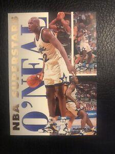 Shaquille O'Neal Shaq 1993-94 Fleer NBA Superstars #16 Orlando Magic