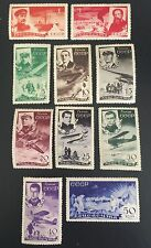1935, Russia, USSR, C58-C65, C66, Vert. WMK, C67, Horiz. WMK, Mint, OG