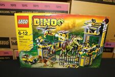 NEW Sealed Box! LEGO 5887 Dino Defense HQ FREE Priority Mail!
