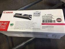 NEW Genuine CANON EP-87 EP-87M Toner LBP2410 MF-8170c MF-8180C 7431A005AA