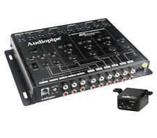 Audiopipe XV-6-V15 6-Way Active Crossover Remote Subwoofer 15V Line Driver
