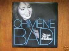 CHIMENE BADI CD SINGLE PROMO DIS-MOI (LARA FABIAN)