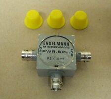 Engelmann Microwave  20 - 200 MHz Power Splitter / Divider PSK-B97 NOS