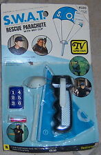 S.W.A.T. Rescue Parachute TV Superstars Mint on Card by Fleetwood New 1976