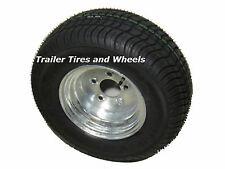 *2* 20.5x8.0-10 LRE 10 PR Bias Trailer Tire on 5 Lug Galvanized Wheel 205/65-10