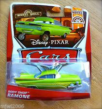 Disney PIXAR Cars BODY SHOP RAMONE on 2013 WHEEL WELL MOTEL THEME diecast 8/11