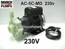 March pump AC-5C-MD 230v 1020 gph Replacement pump for Cruisair PMA1000C-