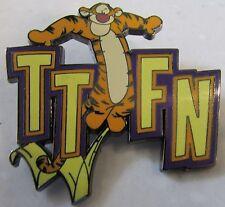 Disney Text Message TTFN Tigger Artist Proof AP Pin
