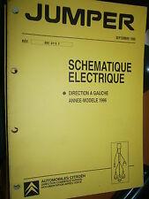 Citroën JUMPER : schémas électrique 1996