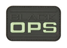 Black OPS Rubber Patches