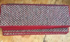 25x8.50inches(64x22cm) HARD WEARING GREY BEIGE RED LOOP STAIR PADS #5062