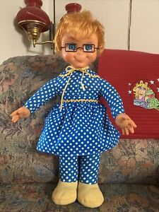 Original Mrs Beasley 1967 By Mattel Restored To Talk And Cleaned