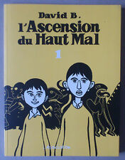 DAVID B.    ****  L'ASCENSION DU HAUT MAL   ****  L'ASSOCIATION NEUF!