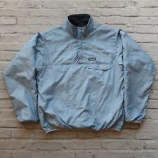 Vintage 90s Patagonia Reversible Pile Fleece Snap-T Pullover Jacket Size M