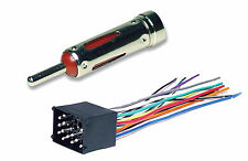 BMW Complete Car Stereo Radio CD Player Installation Kit Wire Harness & Antenna