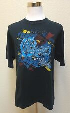 CHICAGO MADE IN USA TOUR 2012 MENS SHIRT SZ XL EXTRA LARGE BLACK SS