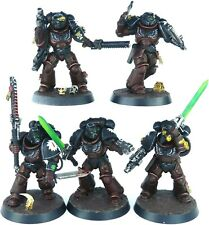 Warhammer 40K Flesh Tearers Primaris Assault Intercessor Squad Conversions