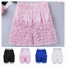 Sexy Womens Ruffle Panties Knickers Pettipants Layered Boyshort Underwear Briefs