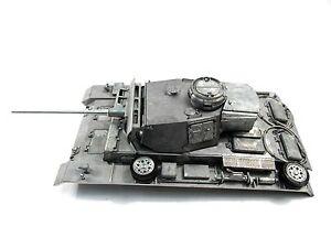 Mato 1/16 German Panzer III RC Tank Metal Infrared Upper Hull & Turret MT139