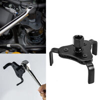 Universal Auto Oil Filter Wrench Spanner 3 Jaw Remover Adjustable Tool 55-95mm