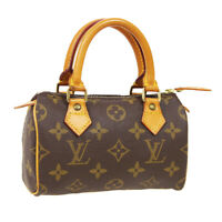 LOUIS VUITTON MINI SPEEDY 2WAY HAND BAG TH1904 PURSE MONOGRAM M41534 NR15677