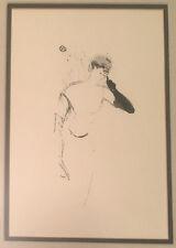 Toulouse Lautrec Yvette Guilbert, in Colombine à Pierrot Lithograph
