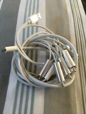 GENUINE APPLE COMPONENT AV CABLE