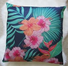 Cotton Linen Blend Cushion Cover 43cm Lovely Apricot Mauve Green Gift
