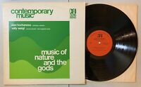 Hovhaness, Weigl - Music of Nature and the Gods 1974 LP CRI 326 Contemporary VG+
