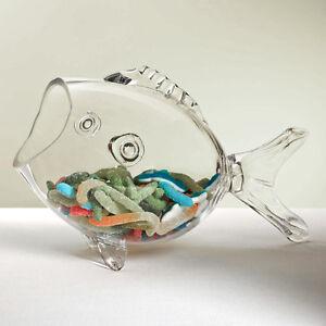 Glass Fish Bowl Aquarium Air Plant Home Decor Display