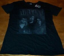 WOMEN'S TEEN NIRVANA NEVERMIND T-shirt XL NEW w/ TAG Band