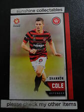 2015/16 TAP N PLAY A-LEAGUE BASE CARD NO.189 SHANNON COLE