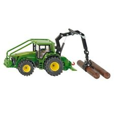 John Deere Forestry Tractor With Crane - Siku 150 Scale 8430 1974