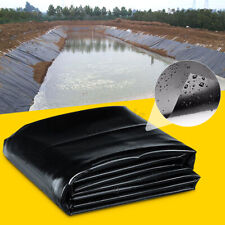 10X8ft Fish Pond Membrane Outdoor Garden Landscaping Supplies Liner Equipment