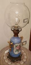 Antico lume in porcellana  dipinta a mano CAPODIMONTE Inizi 900 Funzionante