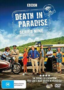 DEATH IN PARADISE Series Season Nine 9 DVD Region 4 BRAND NEW & SEALED!