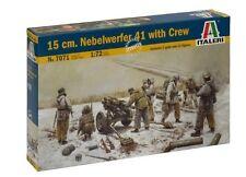 Italeri 1/72 15cm Nebelwerfer 41 with Crew # 7071